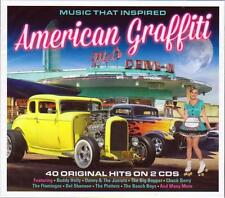 MUSIC THAT INSPIRED AMERICAN GRAFFITI - VARIOUS ARTISTS (NEW SEALED 2CD)