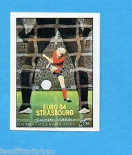 EURO 84-PANINI-Figurina n.16- STRASBURGO - POSTER -Recuperata