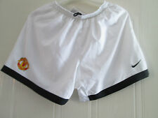 Manchester United 2007-2009 CL Winning Home Football Shorts medium Waist /bi