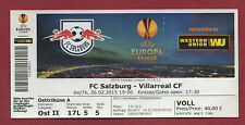 Orig.Ticket  Europa League  14/15  RED BULL SALZBURG - VILLARREAL CF  !!  SELTEN