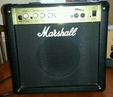 MARSHALL MG15CD 15 WATT AMPLIFICATORE COMBO PER CHITARRA PRATICA CON CD input-M15