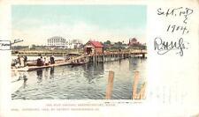 THE BOAT LANDING KENNEBUNKPORT MAINE 1904 POSTCARD (DS)