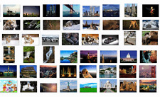 6000 high resolution quality images for large format printer business for sale!