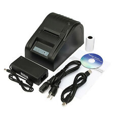58mm USB Mini POS Printer 384 Line Thermal Dot Receipt Printer Roll Paper Black