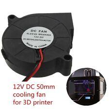 12V DC 50mm Blow Radial Cooling Fan Hotend / Extruder For RepRap 3D Printer