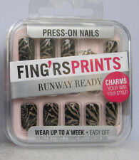 2 Pack Press -On Nails Show Stopper ~Wear Up To A Week ~ Easy Off!