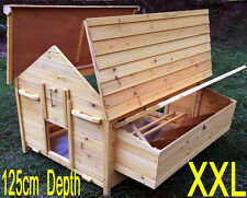 LARGE CHICKEN COOP RUN HEN HOUSE POULTRY ARK HOME NEST BOX COUP COOPS NEW