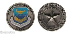 LACKLAND AIR FORCE GATEWAY TO THE AIR FORCE  BASE MILITARY CHALLENGE COIN