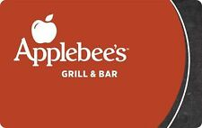 Applebee's Gift Card $10.00 - mail delivery