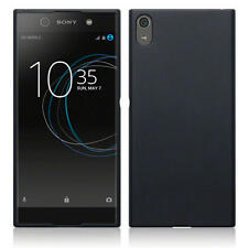 Slim Rubber Gel Case Cover for New Sony Xperia XA1 Ultra - Black Matte