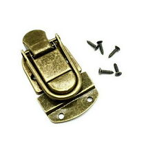 2 x BRASS TOGGLE CASE CATCH Boxes/Chest/Trunk/Tool Box/Suitcase/Clasp Latch E