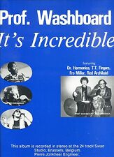 PROF. WASHBOARD it's incredible HOLLAND 1984 EX LP