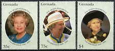 Grenada 1996 SG#3078-3080 QEII 70th Birthday MNH Set #A87516