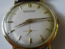 FABULOUS 14 K SOLID ELLOW GOLD JAEGER LE COULTRE MANS WATCH