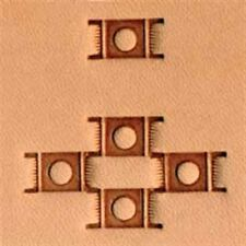 X595 Craftool Basketweave Stamp Tandy Leather 6595-00