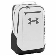 ARMOUR Nueva Mochila Hustle ldwr UNDER Blanco Bolsa Bnwt