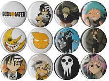Soul Eater set of 12 pins Maka Death the Kid Crona Black Star Death Meister