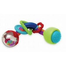 NEW MANHATTAN TOY TWISTY TIME RATTLE/BABY RATTLE