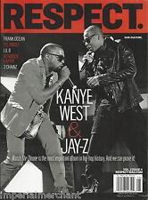 Respect magazine Kanye West Jay-Z Frank Ocean Yelawolf Lil B Kendrick Lamar