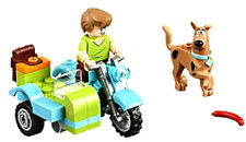 NEW LEGO SCOOBY-DOO & SHAGGY with Motorcycle MINIFIGS 75904 Mystery Mansion