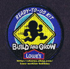 LMH PATCH Badge  2009 READY TO GO  Speedy Sign LOWES Build Grow Kids Clinic