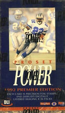 1992 Pro Set ProSet Power NFL Football Cards, Fill Your Set! Pick 20