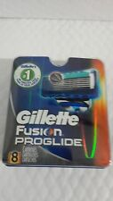 Gillette Fusion Proglide 8 cartridges NEW AND SEALED 100% ORIGINAL -2 PACK OF 4