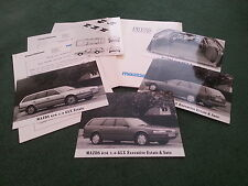 June 1988 MAZDA 626 GLX / EXECUTIVE ESTATE UK PRESS PACK + PHOTOGRAPHS Brochure