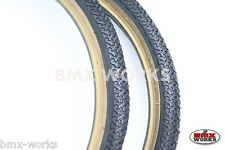 "Kenda K55 Freestyle 20"" x 1.75"" Skinwall Tyres Black - Sold In Pairs"