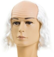 MAD PROFESSOR WIG HALLOWEEN CRAZY SCIENTIST INVENTOR DOC BROWN EINSTEIN WIG