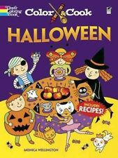COLOR & COOK HALLOWEEN - NEW PAPERBACK BOOK