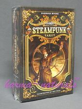 STEAMPUNK TAROT Card Deck & Manual Set by Moore & Fell - NEW