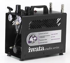 COMPRESSORE PER AEROPENNA AEROGRAFO IWATA IS-975 POWER JET PRO CON SERBATOIO 2L.
