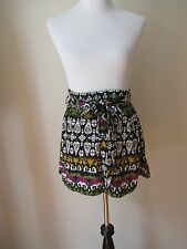 Forever 21 Black Pleated Above the Knee Length Skirt Small Perfect Condition!