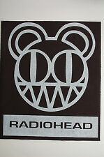 Radiohead Back Patch (BP144) Rock Muse Coldplay Oasis The Smiths The Cure