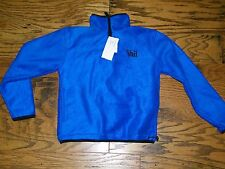 WFS Element Gear Royal Blue Half Zip Vail Colorado Sweatshirt NWT Size S Youth