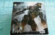 New Sealed Xbox 360 Halo 4 Limited Edition 320 GB Console Bundle 2 Controllers