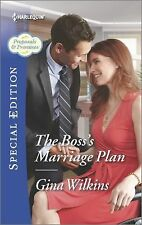 Proposals and Promises: The Boss's Marriage Plan 2 by Gina Wilkins (2015,...