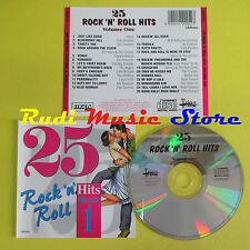 CD 25 ROCK AND ROLL HITS VOLUME 1 compilation HEINZ FATS DOMINO HALEY (C6)