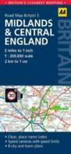 Midlands and Central England Road Map by AA Publishing Staff (2015)