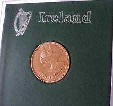 1959, République d' Irlande Eire Irish centime coin (UB) ensemble cadeau en cas d'affichage