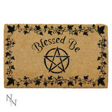 Nemesis Now Blessed Be House Entrance Quality Doormat Wiccan Witchcraft 45x75cm