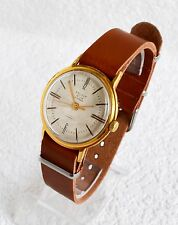 Men's Deluxe Vintage Watch Automatic Collectibles USSR Gold-plated POLJOT