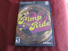 MTV-Pimp My Ride (Sony PlayStation 2, 2006) Rated T for teen