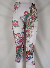 Yayun Fashion Legging Capr Multi-Color ALWAYS Tattoo Med/Lg  53N