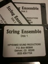 KURZWEIL ~ STRING ENSEMBLE  ~ Native KRZ ~ 100 VAST PROGRAMS  ~ 3 DISK SET!!!!