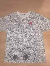 Preowned Comme des Garcons CDG PLAY Simpson cartoons Shirt raf rick owens gucci