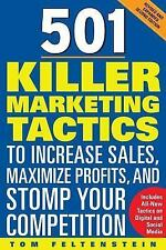 501 Killer Marketing Tactics to Increase Sales, Maximize Profits, and Stomp Your