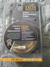 IXOS COMPOSITE VIDEO INTERCONNECT CABLE(GOLD SERIES)  -  3 METER (MODEL - 1181)