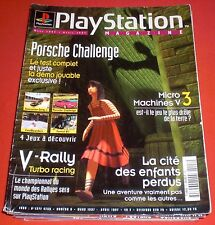 Playstation Magazine [n°8 Mars 1997] PS1 One Micro Machines V3 Suikoden *JRF